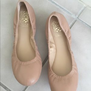 Vince Camuto Leather Flat